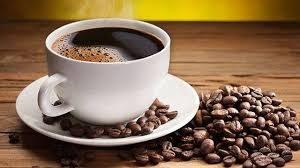Drycker kaffe och fika bröd